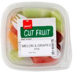 Pams Cut Fruit Melon & Grapes 200g