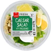 Pams Caesar Salad With Dressing 120g