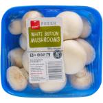 Pams Fresh Express White Button Mushrooms 250g