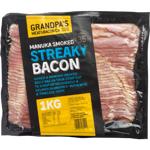Grandpa's Streaky Bacon 1kg