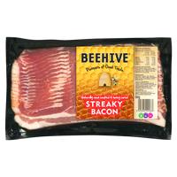 Beehive Streaky Bacon 500g