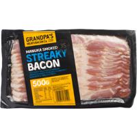 Grandpa's Streaky Bacon 500g