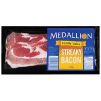 Medallion Streaky Bacon 200g