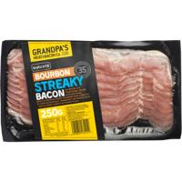 Grandpa's Bourbon Streaky Bacon 250g