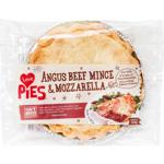 I Love Pies Angus Beef Mince & Mozzarella Pie 900g