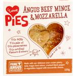I Love Pies Angus Beef Mince & Mozzarella Pie 220g