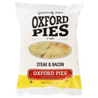 Oxford Pies Steak & Bacon Pie 1ea