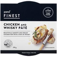 Pams Finest Chicken & Whiskey Pate 120g