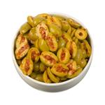 Euro-Dell Harissa Split Olives 1kg