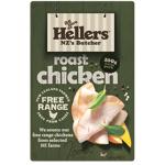 Hellers Free Range Roast Chicken Shaved 2pk