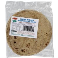Lazeez Fresh Indian Wholemeal Roti 9ea