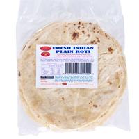 Lazeez Fresh Indian Plain Roti 9ea