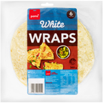 Pams White Wraps 6ea