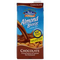 Blue Diamond Almond Breeze Chocolate Almond Milk No Cholesterol 1l