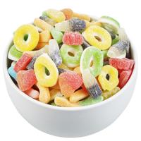 Bulk Foods Sour Lollies 1kg