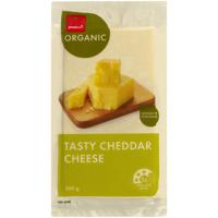 Pams Organic Tasty Cheddar Cheese 500g