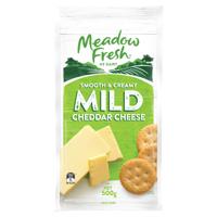 Meadow Fresh Mild Cheese 0.5kg