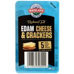 Mainland Edam Cheese & Crackers 50g