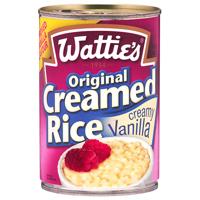 Wattie's Creamy Vanilla Original Creamed Rice 420g