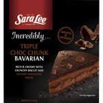 Sara Lee Incredibly Triple Choc Chunk Bavarian 510g