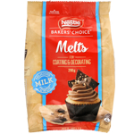 Nestle Baker's Choice Milk Choc Melts 290g