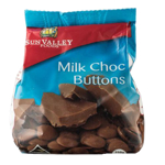 Sun Valley Foods Milk Chocolate Buttons 250g