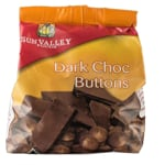 Sun Valley Foods Dark Chocolate Buttons 250g