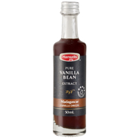 Hansells Pure Vanilla Bean Extract Madagascar 50ml
