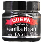 Queen Organic Vanilla Bean Paste 65g