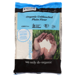 Kialla Pure Foods Organic Unbleached Plain Flour 1kg