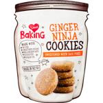 I Love Baking Ginger Ninja Cookies 185g
