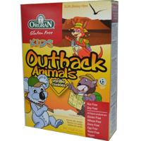Orgran Gluten Free Kids Outback Animals Vanilla 175g