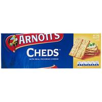 Arnott's Cheds Crackers 250g
