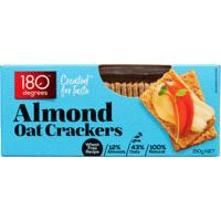 180 Degrees Almond Oat Crackers 150g