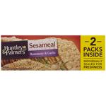 Huntley & Palmers Rosemary & Garlic Sesameal Crackers 200g
