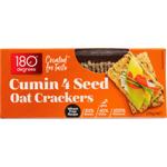 180 Degrees Cumin 4 Seed Oat Crackers 135g