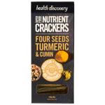 Health Discovery Paleo Turmeric & Cumin Nutrient Crackers 150g