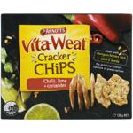 Arnott's Vita-Weat Classic Chilli Lime & Coriander Cracker Chips 120g