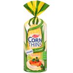 Real Foods Organic Sesame Corn Thins 150g