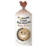 GoodnessMe Quinoa & Chia Crispy Rice Rounds 120g