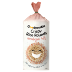 GoodnessMe Himalayian Salt Crispy Rice Rounds 120g