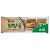 Peckish No Salt Brown Rice Crackers 100g