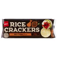 Pams BBQ Chicken Rice Crackers 100g
