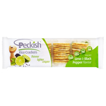 Peckish Thins Rice Crackers Lime & Black Pepper 100g