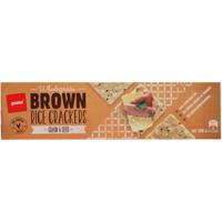 Pams Grain & Seed Wholegrain Brown Rice Crackers 100g