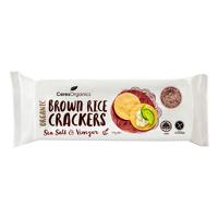 Ceres Organics Sea Salt & Vinegar Organic Brown Rice Crackers 115g