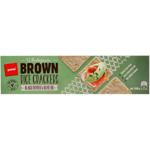 Pams Black Pepper & Olive Oil Brown Rice Crakcers 100g