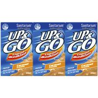 Sanitarium Up & Go Caramel Liquid Breakfast 3pk