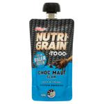 Kellogg's Nutri Grain To Go Choc Malt Slam Thick & Creamy Protein Squeezer 140g