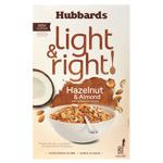Hubbards Light & Right Hazelnut & Almond Cereal 425g